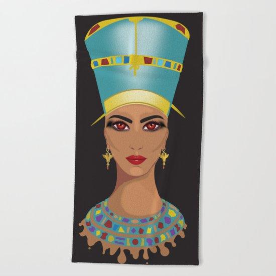 Nefertari Beach Towel