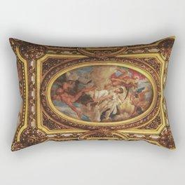 Ceiling of the Palais Garnier Rectangular Pillow