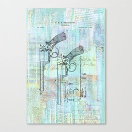 Beaumont Revolver  Canvas Print