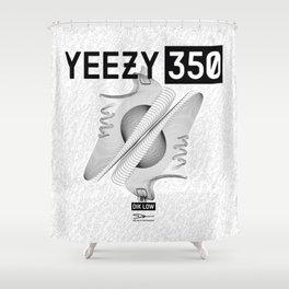 YEEZYS 350 Boost Sneakers Art Shower Curtain