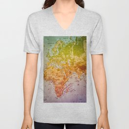 Colorful World Unisex V-Neck