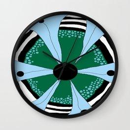 FLOWERY CECILIE  / ORIGINAL DANISH DESIGN bykazandholly Wall Clock