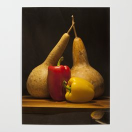 Vegetable Still life Poster