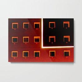 Luz y color - Hotel Metal Print