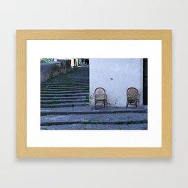 neapolitan living Framed Art Print