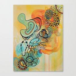 Reptar Canvas Print