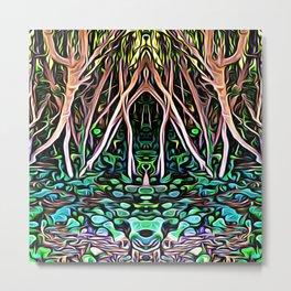 Forest Princess Metal Print
