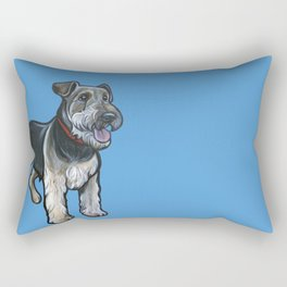 Airedale Rectangular Pillow