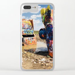 Amarillo, Texas Cars Clear iPhone Case
