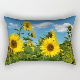 Sunflowers 11 Rectangular Pillow