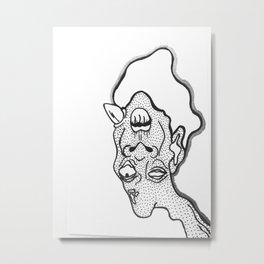 Bizzare-0 Metal Print