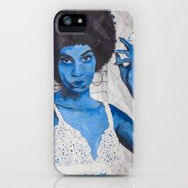Indigo Joan  iPhone Case