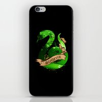 slytherin iPhone & iPod Skins featuring Slytherin by Markusian