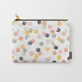 Dots and leaves Carry-All Pouch