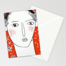 Adonis in wonderland Stationery Cards