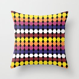 Colorbars Throw Pillow