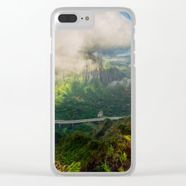 Stairway to Heaven, Hawaii Clear iPhone Case