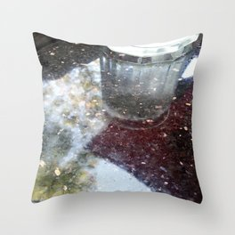 Reflection at Wild Carvery Throw Pillow