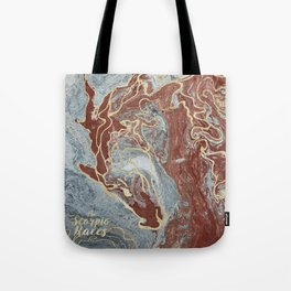 The Scorpio Races - Red as the Sea Tote Bag