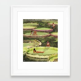 Valley of the Lily Framed Art Print