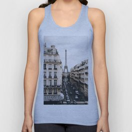 Paris Unisex Tank Top