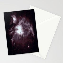 Slate Gray Orion Nebula Stationery Cards