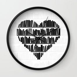 Book Lover II Wall Clock