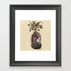 Transgenic Pineapple  Framed Art Print
