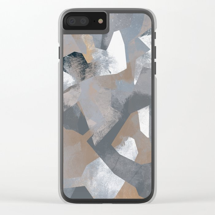 Camouflage XCI Clear iPhone Case