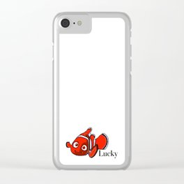 Lucky Fins Clear iPhone Case