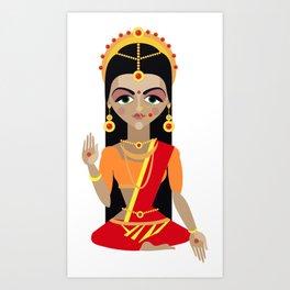 mata Parvati Art Print