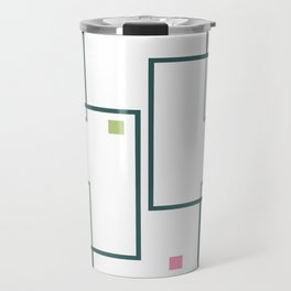 Urban Colorful Spots Travel Mug