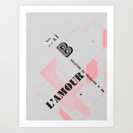 House of Love Art Print