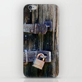lock & hinge iPhone Skin