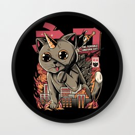 Catzilla Wall Clock