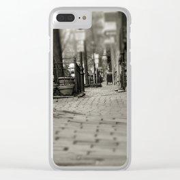 Brick and Cobblestone - Boston Streets Clear iPhone Case