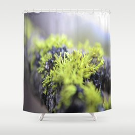 Mossy thoughts Shower Curtain