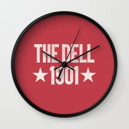 The Dell Football Ground Wall Clock