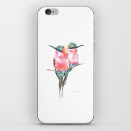 Northern Carmine bee-eaters iPhone Skin