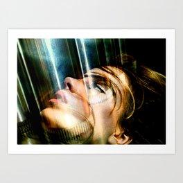 Celebrity Row - Kate Art Print