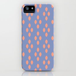 Peachy Leaves iPhone Case