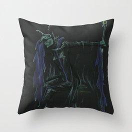 Maleficent's Lament Throw Pillow