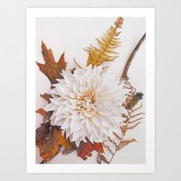 Autumn Mood #3 - Modern Botanical Photograph Art Print