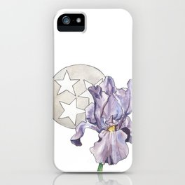 Tennessee Iris iPhone Case
