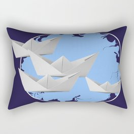 paperboats Rectangular Pillow