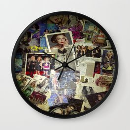 gimme a smile hunny Wall Clock