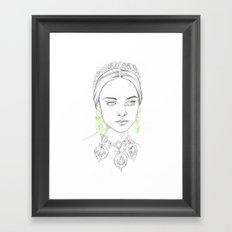 20 Framed Art Print