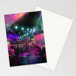 Tunes of the Night Stationery Cards