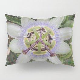 Passion Flower Blossom Pillow Sham