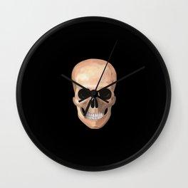 Smiling Skull Wall Clock
